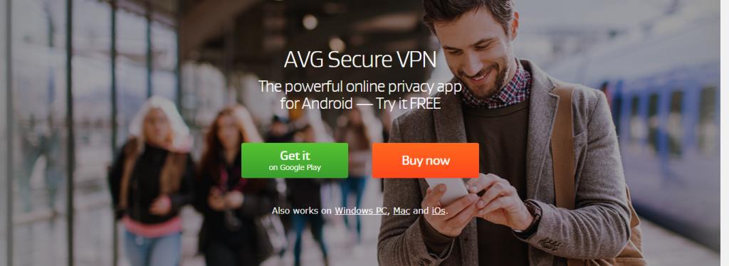 AVG VPN for Firestick