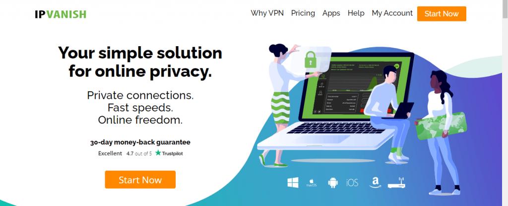 IPVanish VPN on Firestick