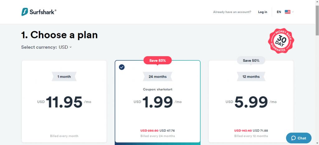Surfshark VPN on Firestick